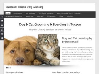 Camino Verde Pet Resort | Boarding