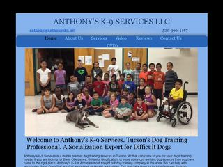 Anthony's K-9 Services | Boarding