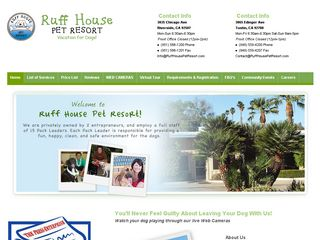 Ruff House Pet Resort Tustin | Boarding