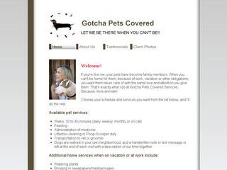 Gotcha Pets Covered | Boarding