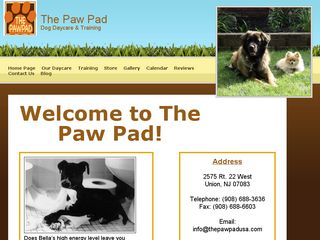 The Paw Pad Dog Training  Dog Day Care Union