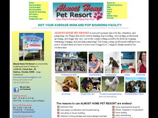 Almost Home Pet Resort | Boarding