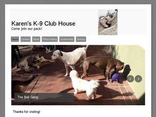 Karens K9 Club House | Boarding