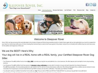 Sleepover Rover Dog Boarding Vancouver | Boarding
