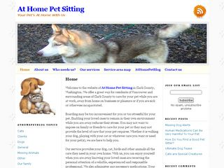 At Home Pet Sitting Inc | Boarding