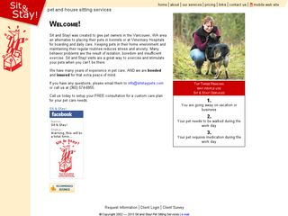Sit and Stay Pet  House Sitting Services | Boarding