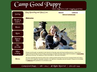Camp Good Puppy | Boarding