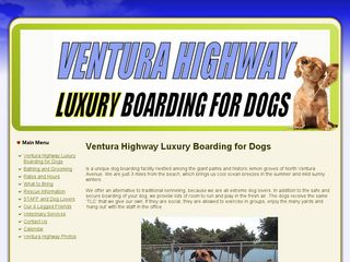 Ventura Highway Dog Boarding Ventura