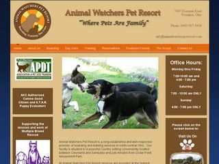 Animal Watchers Pet Resort Vermilion