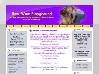 Bow Wow Playground Doggie Daycare and Boarding Villa Park