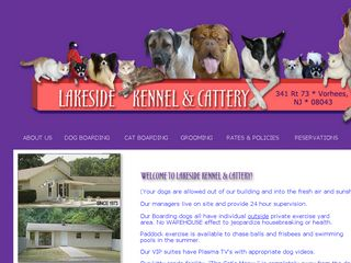 Lakeside Kennel Cattery Voorhees Township