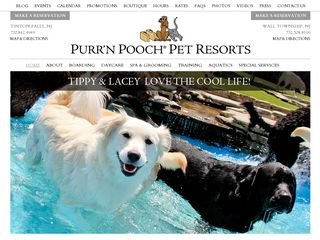 Photo of Purr'N Pooch Pet Resorts in Wall