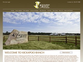Kickapoo Ranch Pet Resort | Boarding