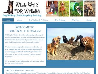 Will Wag For Walks Walnut Creek