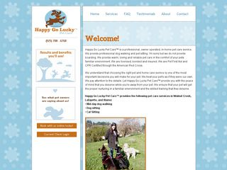 Happy Go Lucky Pet Care | Boarding