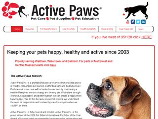 Active Paws | Boarding