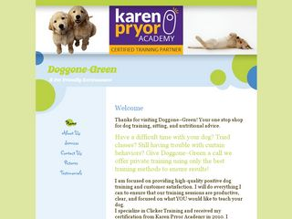 Doggone ~ Green Waltham