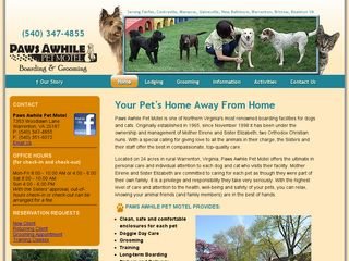 Paws Awhile Pet Motel | Boarding