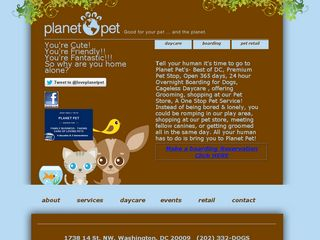 Planet Pet Washington