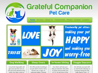 Grateful Companion Pet Care | Boarding