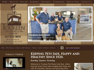 Toureen Pet Resort and Spa | Boarding