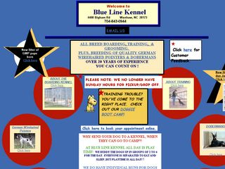 Blue Line Kennel | Boarding