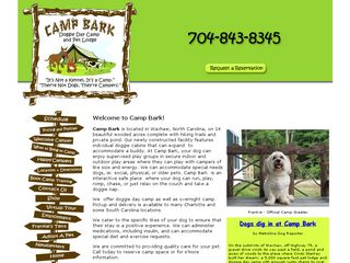 Camp Bark Waxhaw