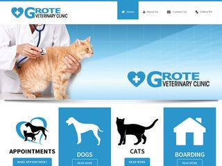 Grote Veterinary Clinic | Boarding