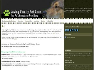 Loving Family Pet Care | Boarding