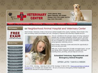 West Chester Veterinary Center | Boarding