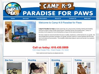 Camp K9 Paradise For Paws West Chester