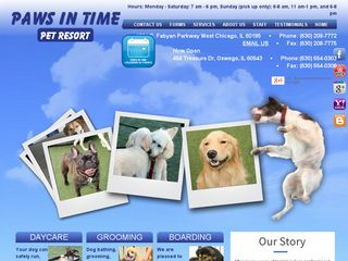 Paws In Time Inc | Boarding