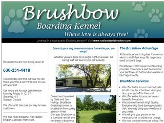 Brushbow Boarding Kennels West Chicago