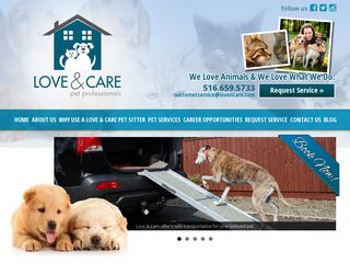 Love N Care Pet Sitting | Boarding