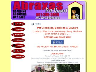 Abraxas Pet Resort West Jordan
