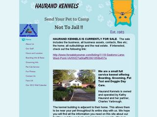 Haurand Kennels West Point