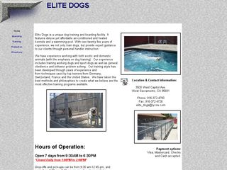 Elite Dogs Training Boarding West Sacramento