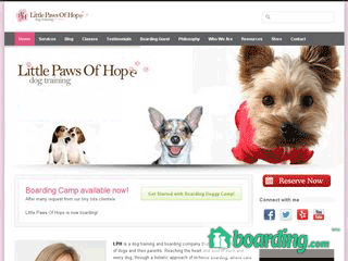 Little Paws of Hope | Boarding