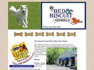 Bed Biscuit Kennels Inc | Boarding