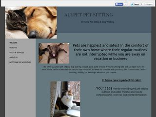 Allpet Pet Sitting | Boarding