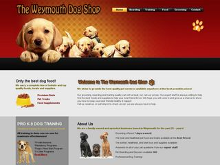 Weymouth Dog Shop | Boarding