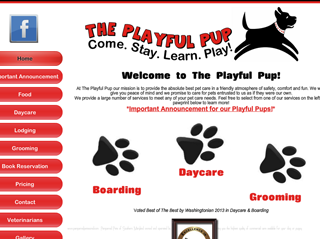 The Playful Pup of Southern Maryland | Boarding