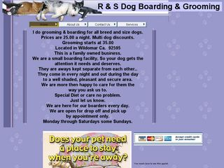 R   S dog boarding day care   grooming | Boarding