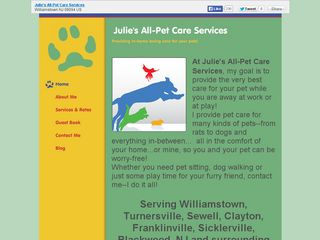 Julies All Pet Care Services | Boarding