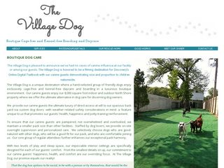 The Village Dog | Boarding