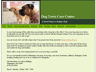 Dog Town Care Center | Boarding