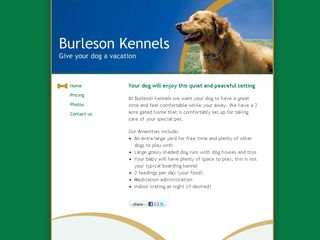 Photo of Burleson Kennels in Wilton
