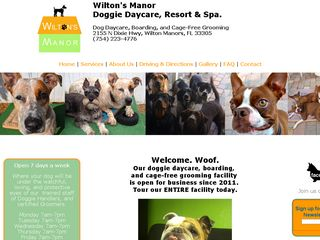 Wiltons Manor Doggie Daycare Resort & Spa | Boarding