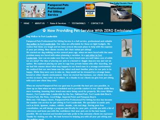 Pampered Pets Professional Pet Sitting Service | Boarding
