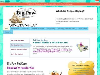Big Paw Pet Care Windermere